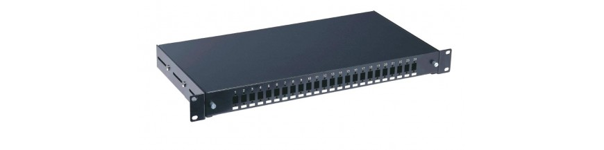 Patch panel cu sina