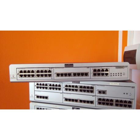 Inchiriere centrala telefonica Alcatel OXO, 1100 int digitale ,40 IP, 32 analogice