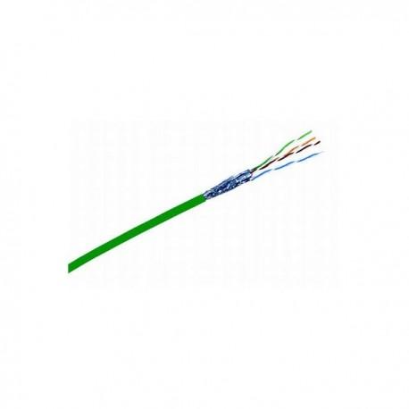 Cablu FTP 3M Volition cat. 5e 100 ohmi, ecranat manta PVC 4 perechi, culoare verde (cutie cu 305 m)