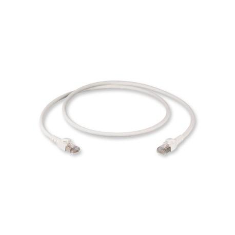 PatchCord Corning S500, S/FTP flex/26 AWG, 2xRJ45 Cat.6A, manta LSZH, culoare alb, 4m