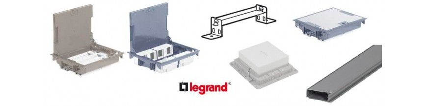 Doze de pardoseala & accesorii Legrand